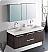 Fresca FVN8013GO Opulento 54 Inch Gray Oak Double Bathroom Vanity