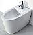 Eago Modern White Ceramic Bathroom Bidet
