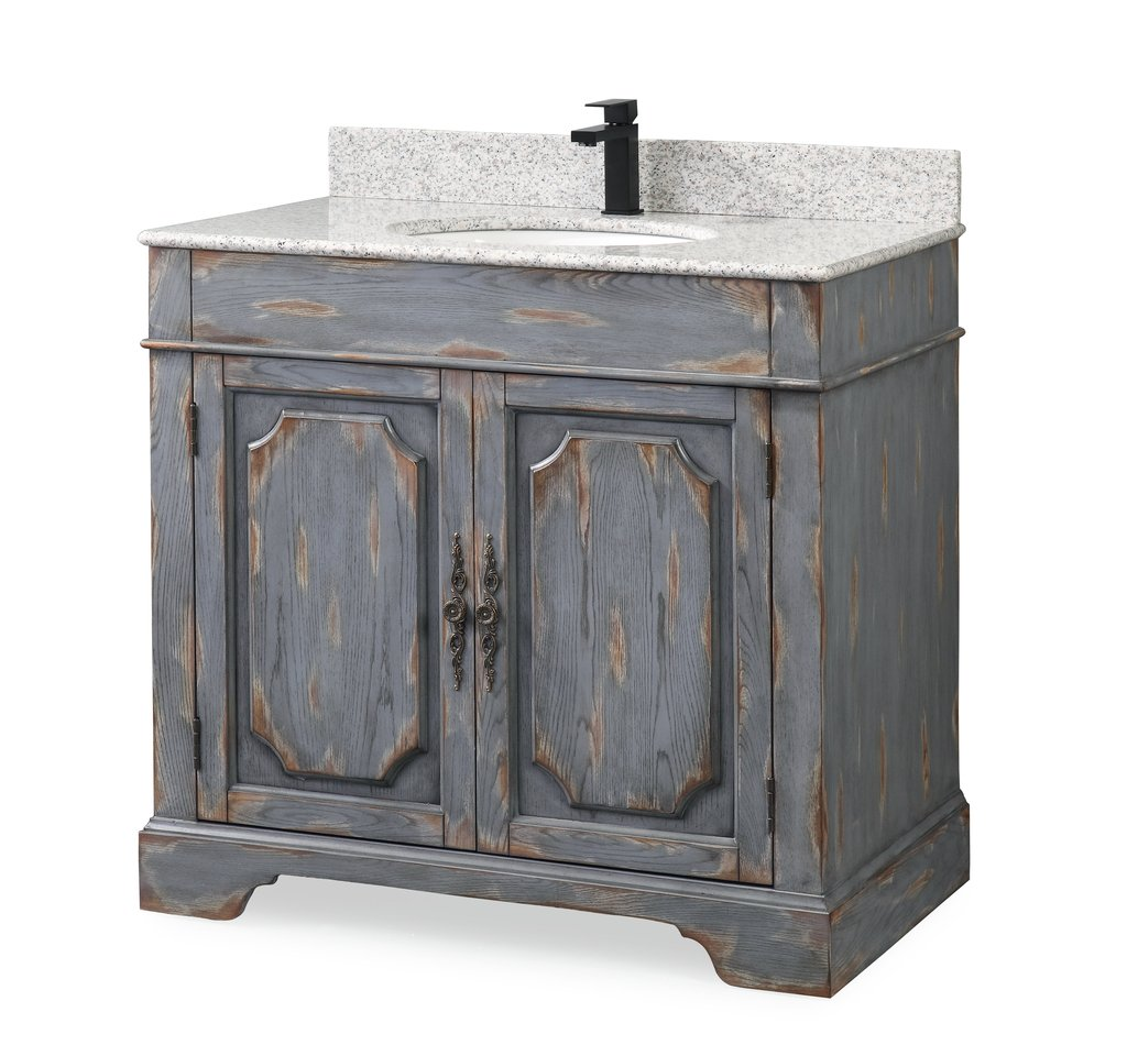 Adelina 36 Quot Benton Collection Litchfield Rustic Gray