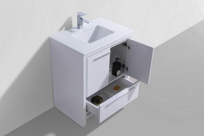 Countertop Height Bathroom Vanity : ... bathroom vanity is one of the most elegant modern bathroom vanities