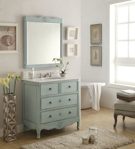 Nice Vintage Bathroom Vanity Design Ideas
