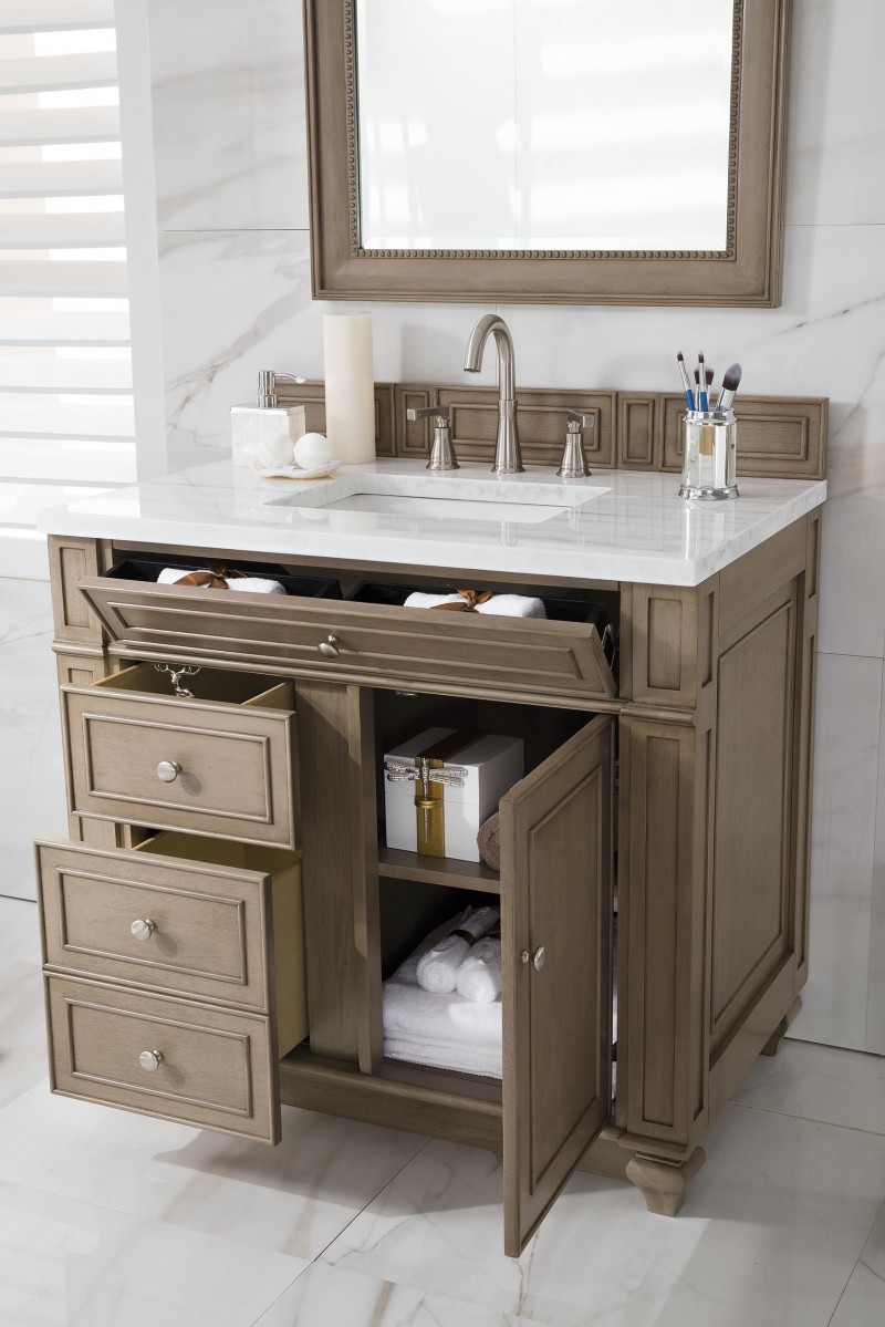 36 inch bathroom vanities with tops