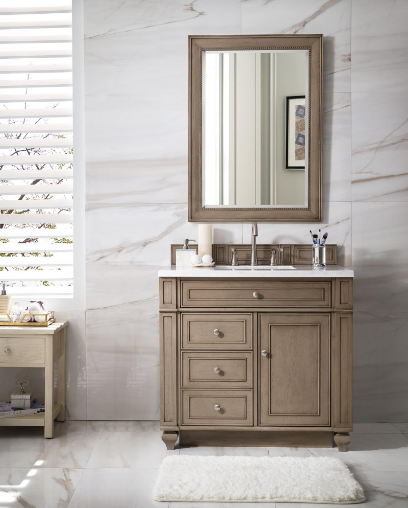 white vanity for bathroom 36 inch antique single sink bathroom vanity whitewashed 21623