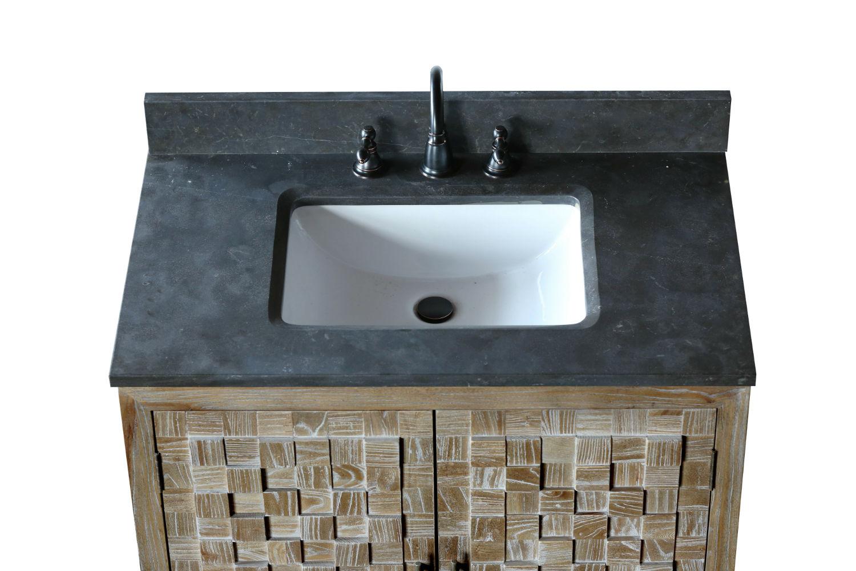 6 Inch Distressed Bathroom Vanity Cabinet