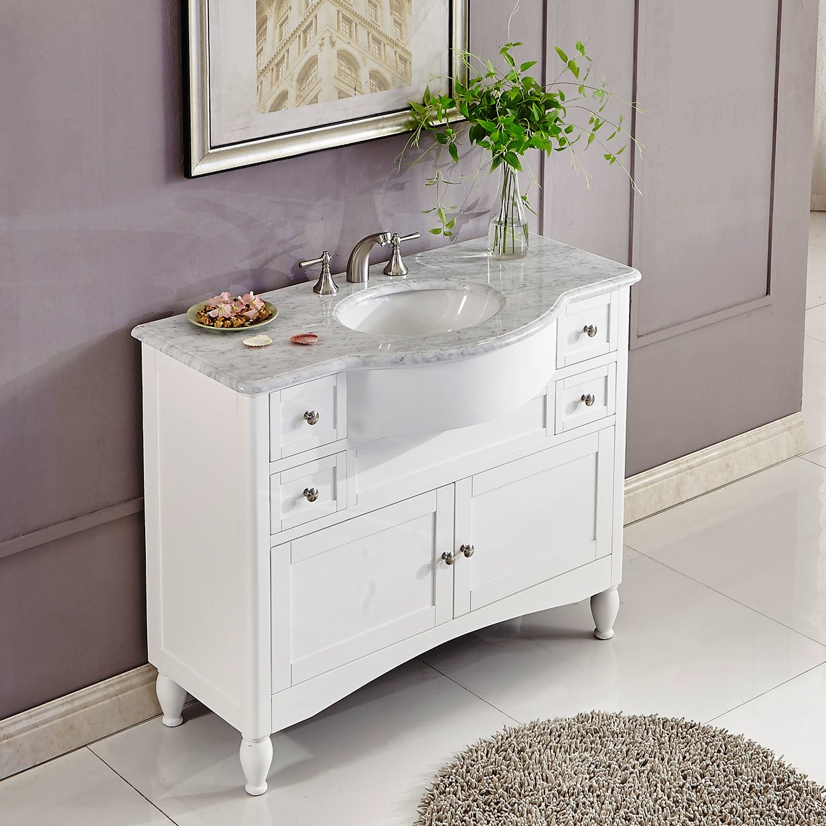 45 single sink bathroom vanity 45 inch single sink contemporary white bathroom vanity 21832