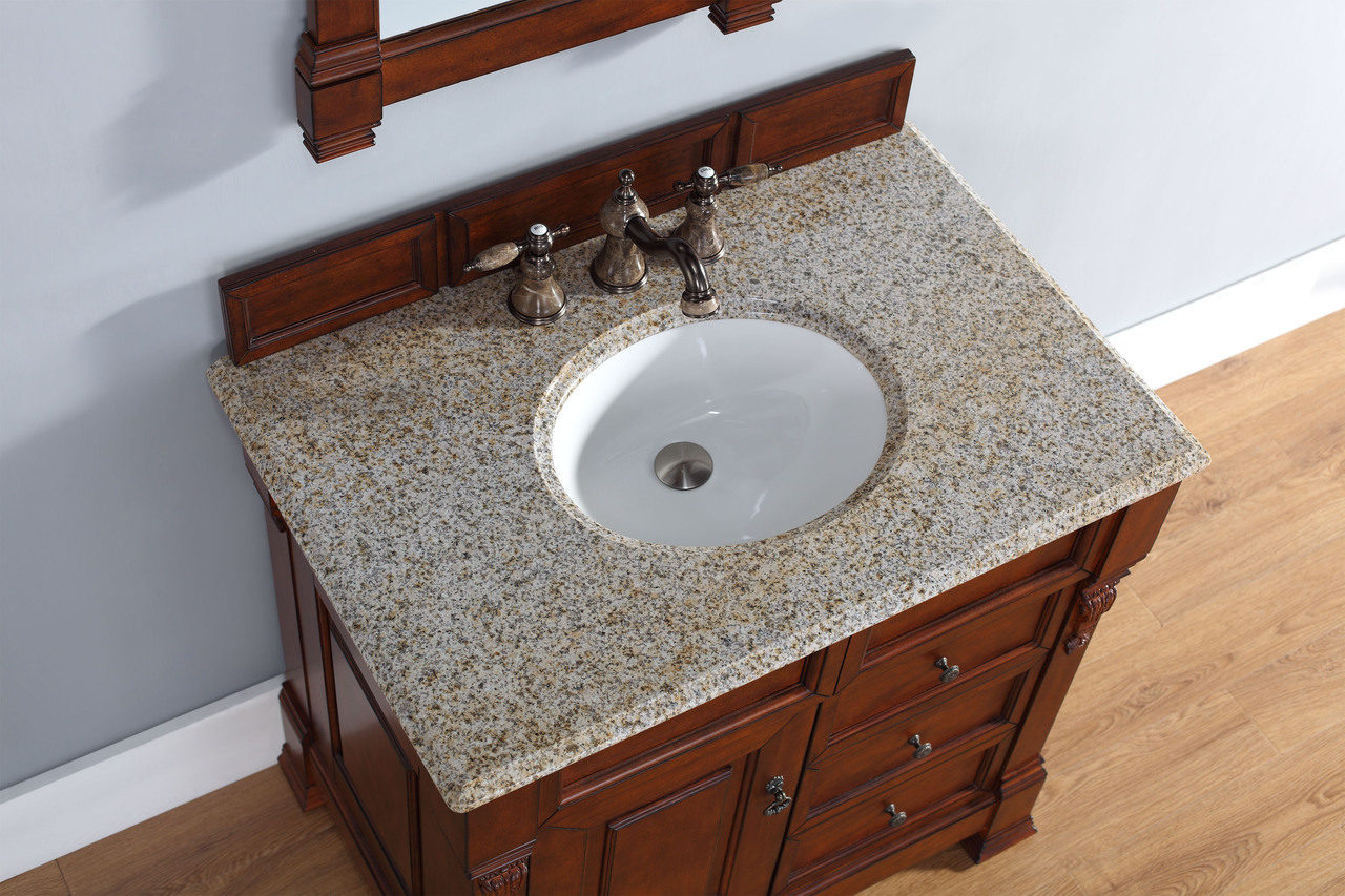 single sink traditional bathroom vanities. Exellent Traditional Abstron 36 Inch Cherry Finish Single Sink Traditional Bathroom Vanity  Top Inside Vanities A