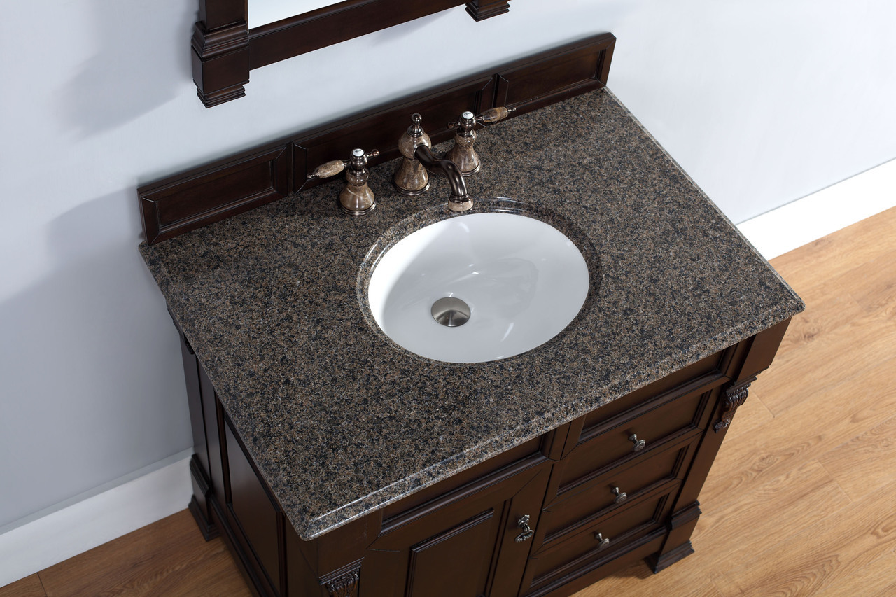 36 inch bathroom sink martin brookfield collection 36 quot single vanity with 15300