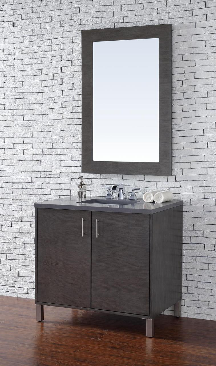 silver bathroom cabinet martin metropolitan collection 36 quot single vanity 26124