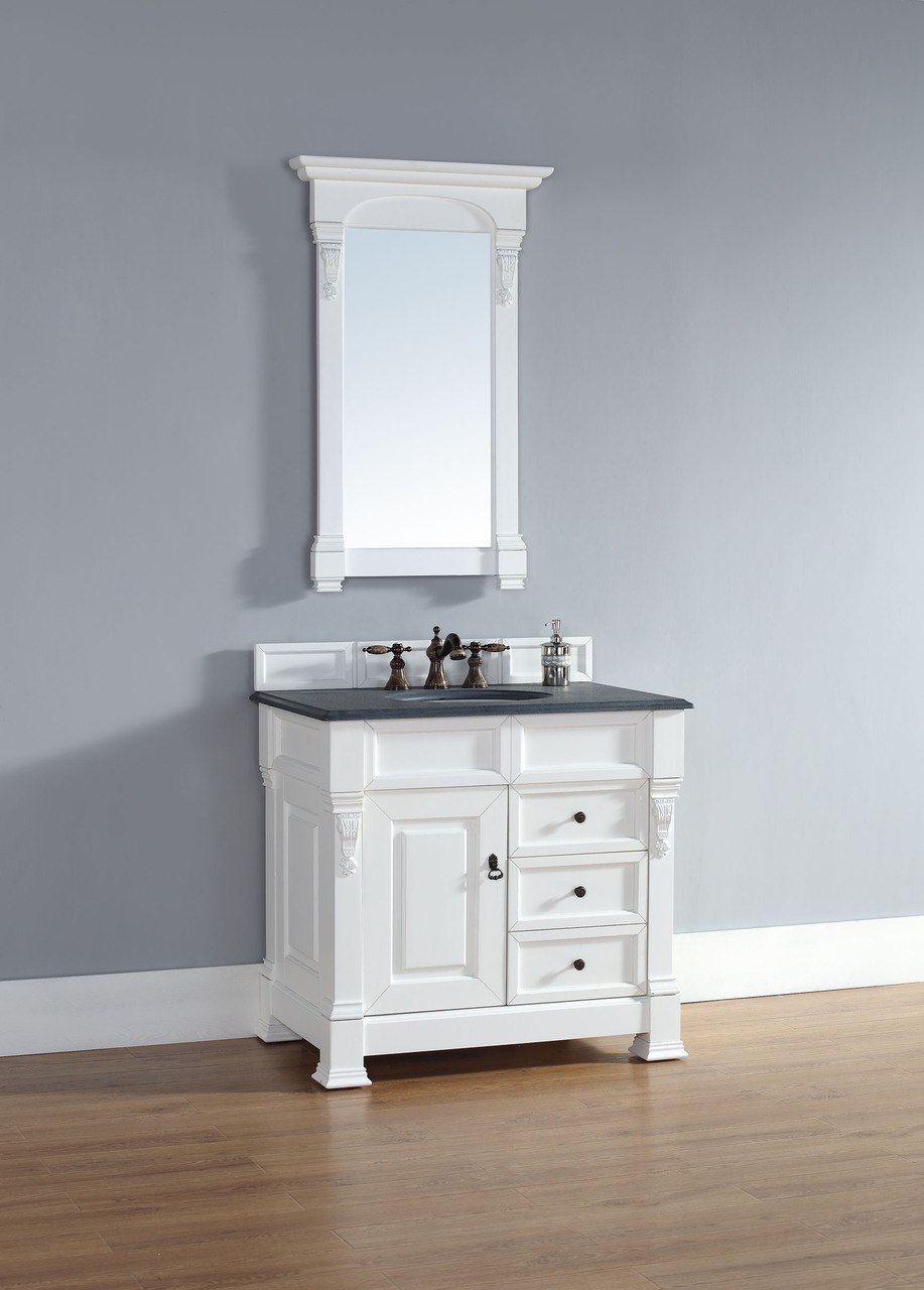 white bathroom vanity 36 inch martin brookfield collection 35 quot single vanity with 24627