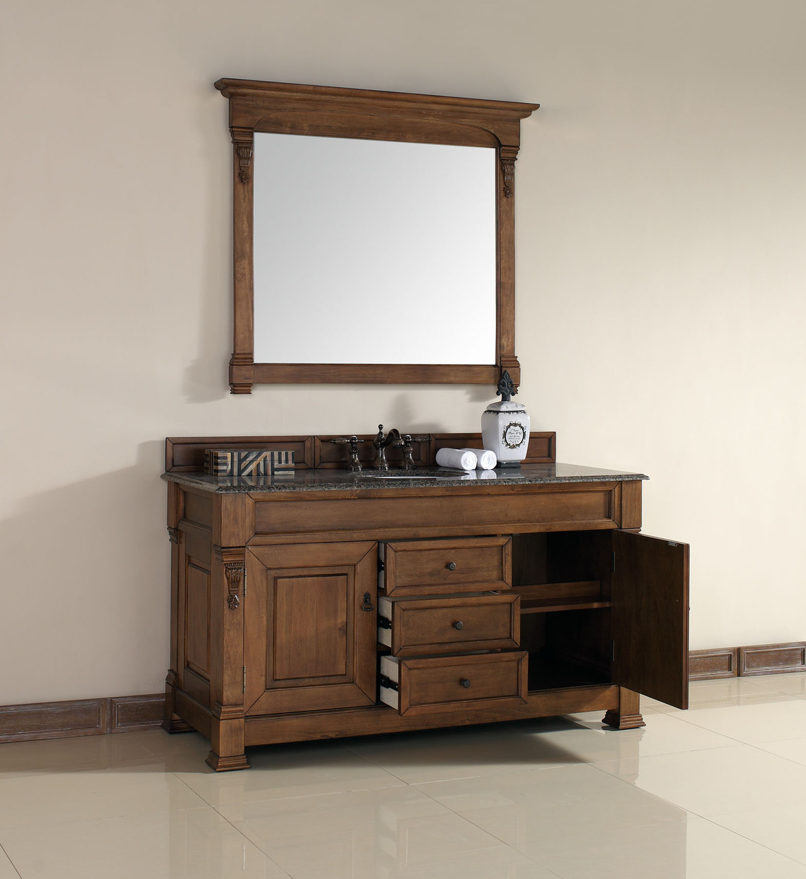 traditional bathroom cabinet martin brookfield collection 60 quot single vanity 14790