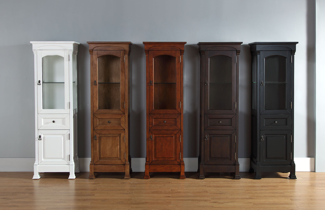 Bath Vanity Optional Countertop Linen Cabinets