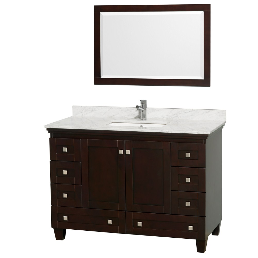 wh h mirror in vanities x p square vanity w carrara basin with ms top marble wmsq usa bathroom virtu caroline and white tops