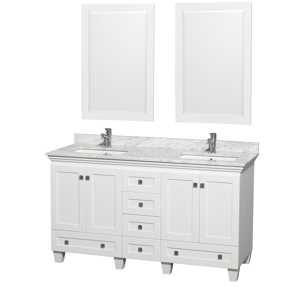 60 white bathroom vanity acclaim 60 quot white bathroom vanity set counter options 15334