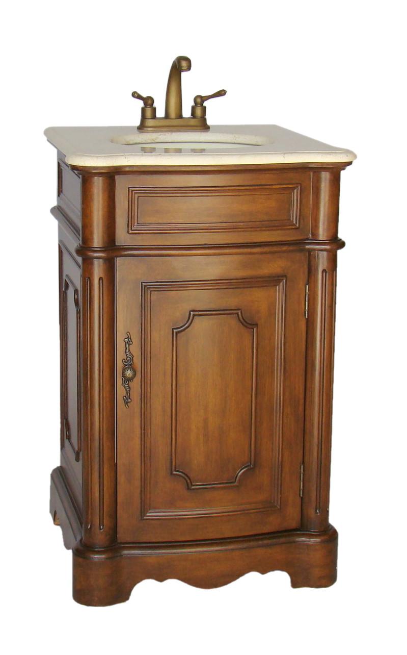 adelina 21 inch petite bathroom vanity, fully assembled