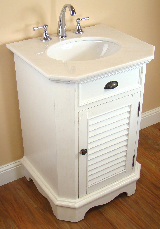 Vanity Cottage 24 Ctaa2422d : Adelina inch cottage white finish bathroom vanity