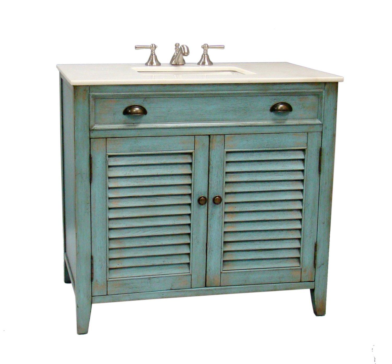 adelina 36 inch cottage white sink bathroom vanity white marble counter top. Black Bedroom Furniture Sets. Home Design Ideas