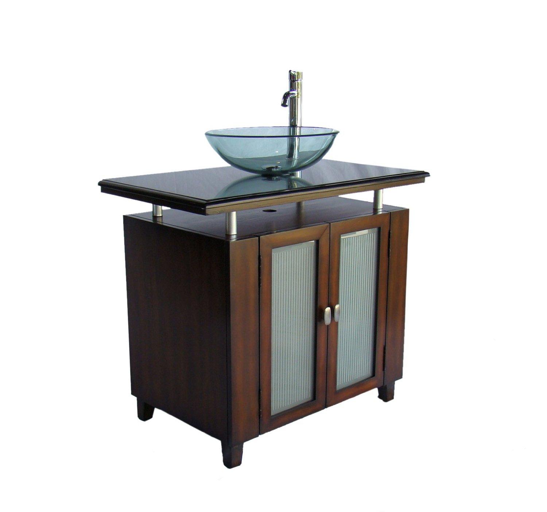 37 inch bathroom vanity.  Adelina 37 inch Vessel Bathroom Vanity Black Galaxy Top Sink