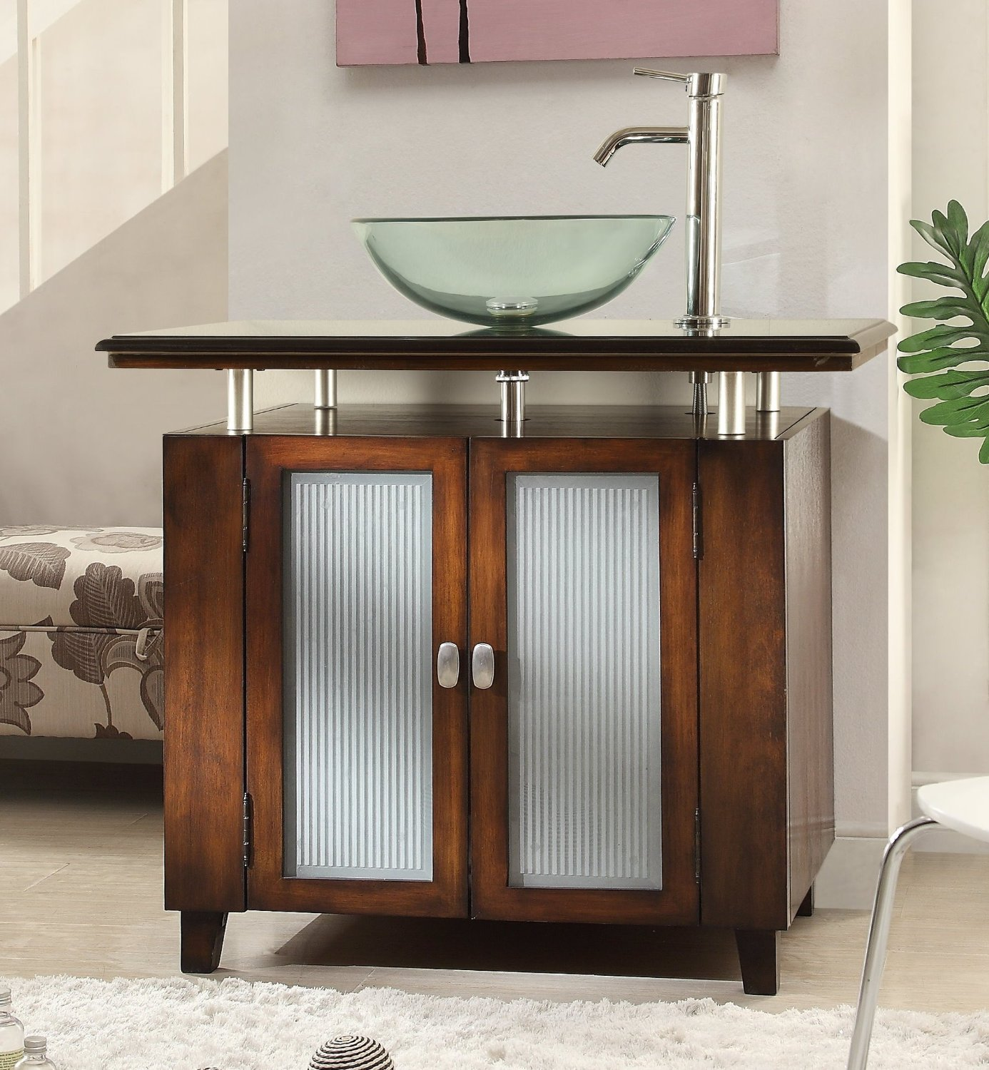 Bathroom Vanities With Vessel Tops