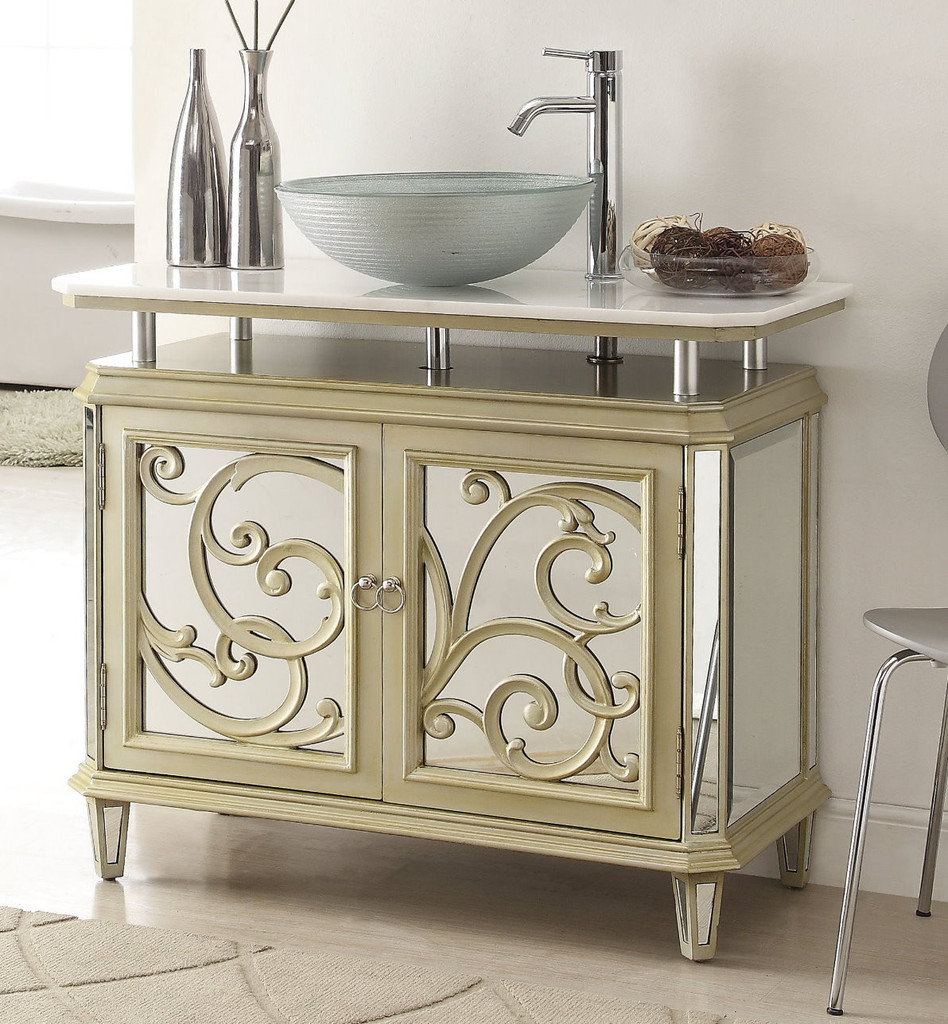 traditional with sink ll mirror mirrored vanity ikcilv narbhy bathroom consoles and vanities