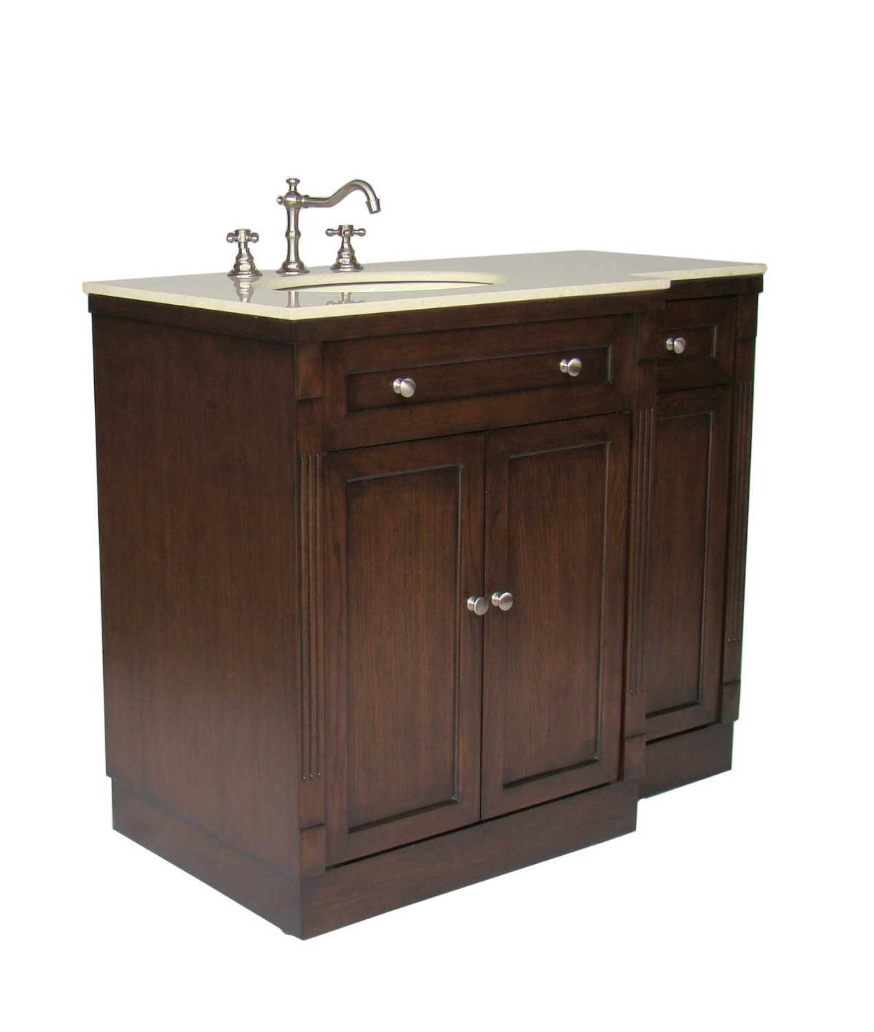 42 Inch Bathroom Vanity Adelina 42 Inch Traditional Bathroom Vanity Fully Assembled