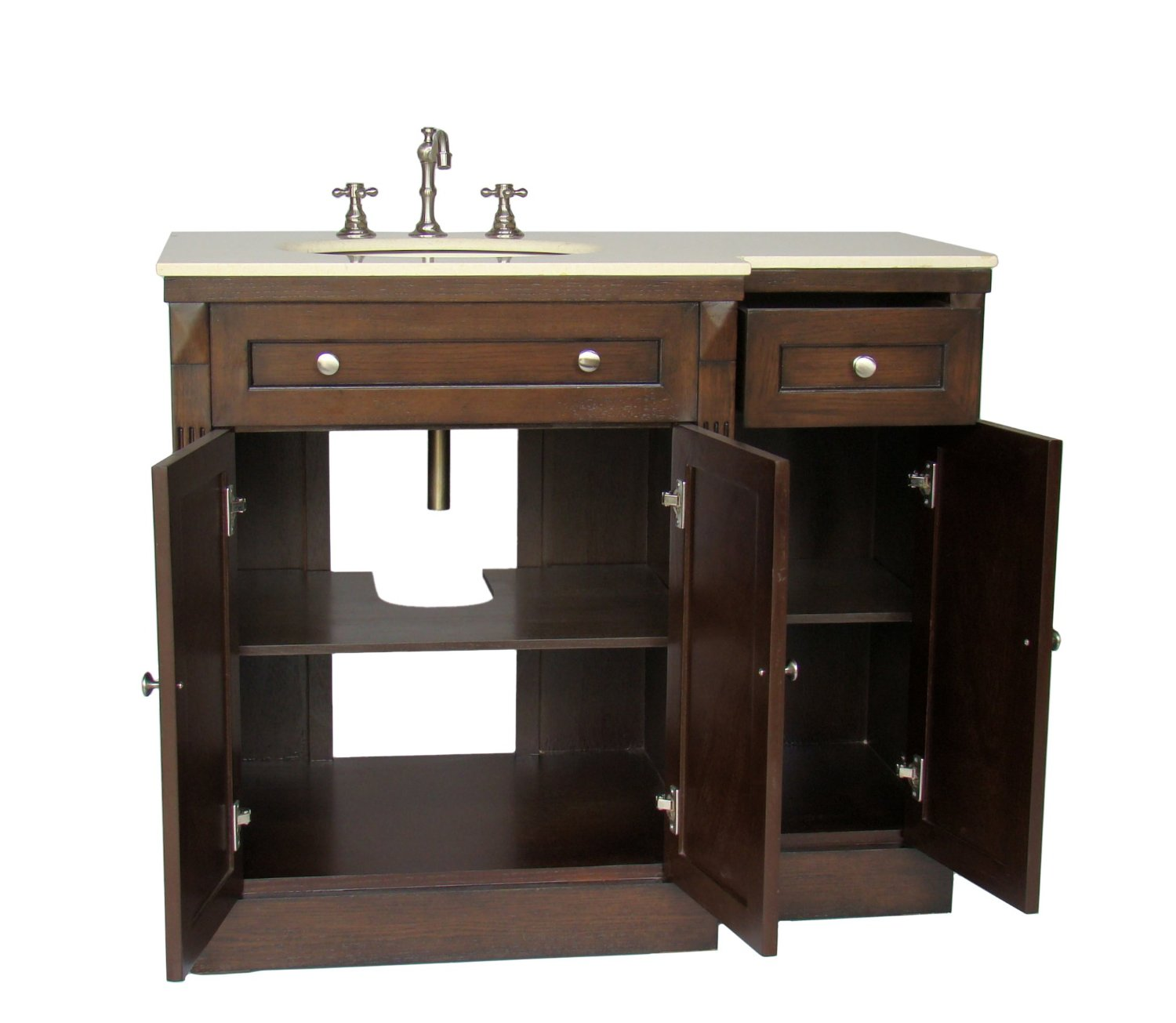 Adelina 42 inch traditional bathroom vanity fully for Looking for bathroom vanities