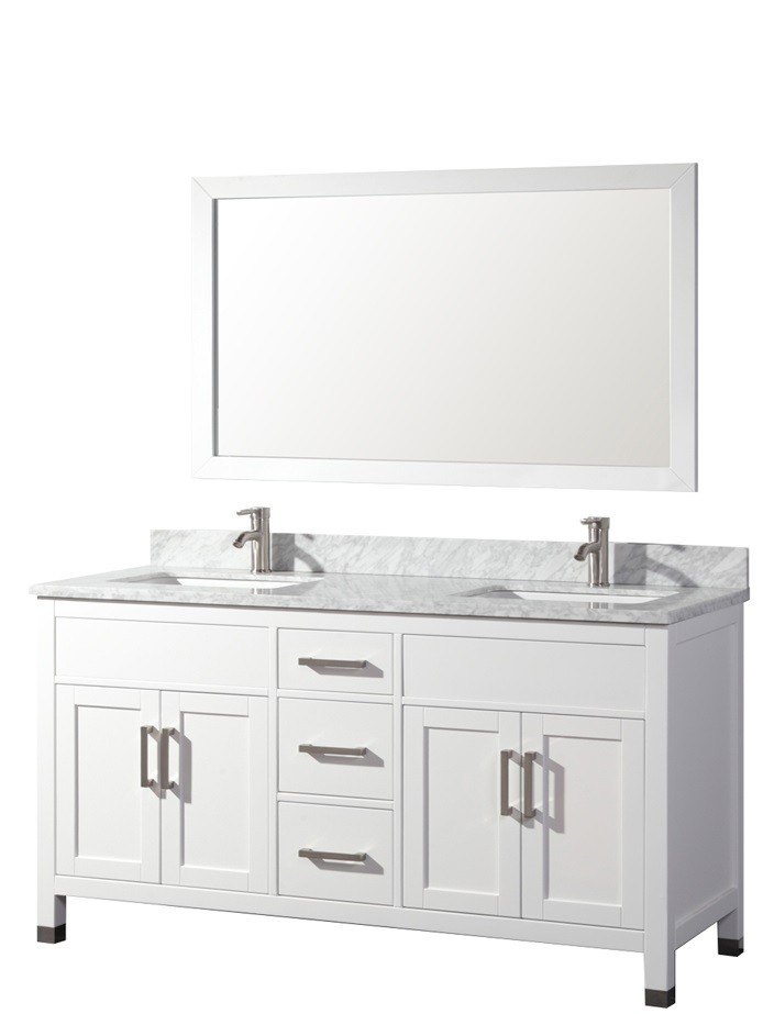 60 white bathroom vanity adelina 60 inch contemporary white finish sink 15334