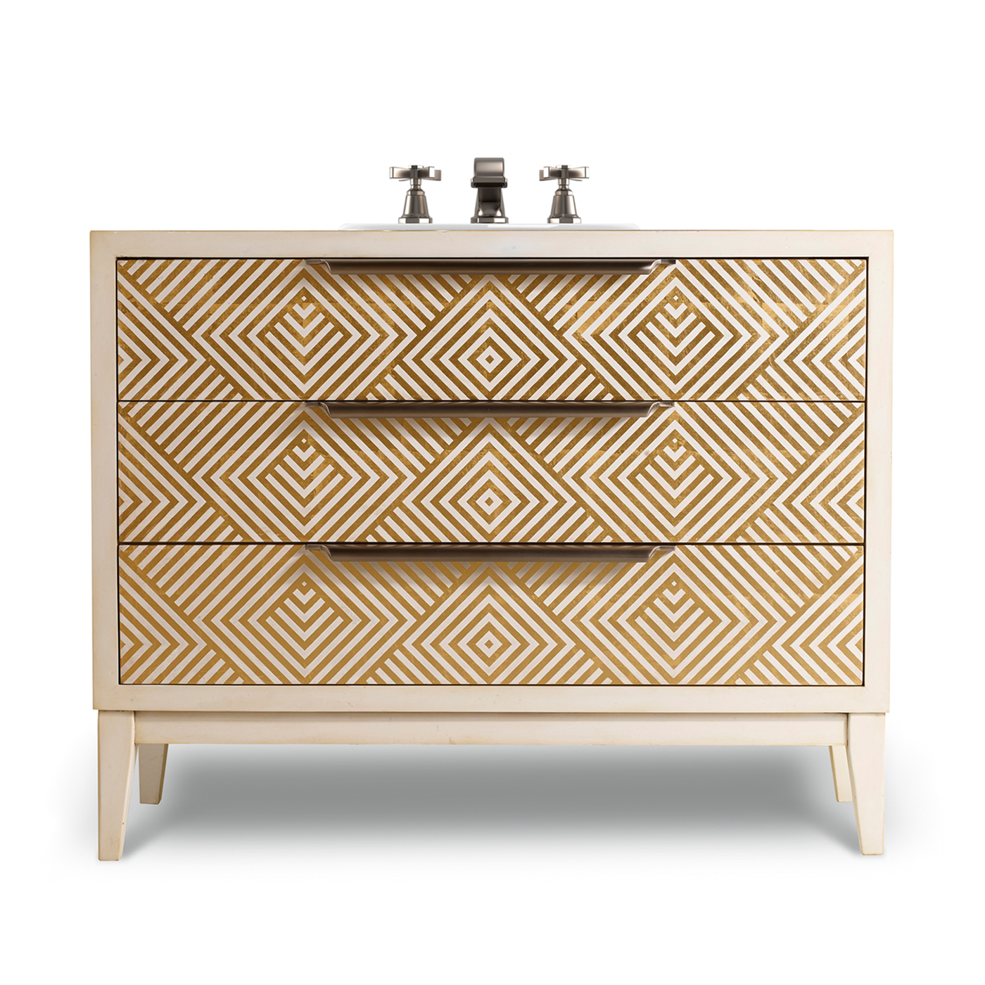 Avery 46 Inch Hall Chest Bathroom Vanity By Cole & Co. Designer Series