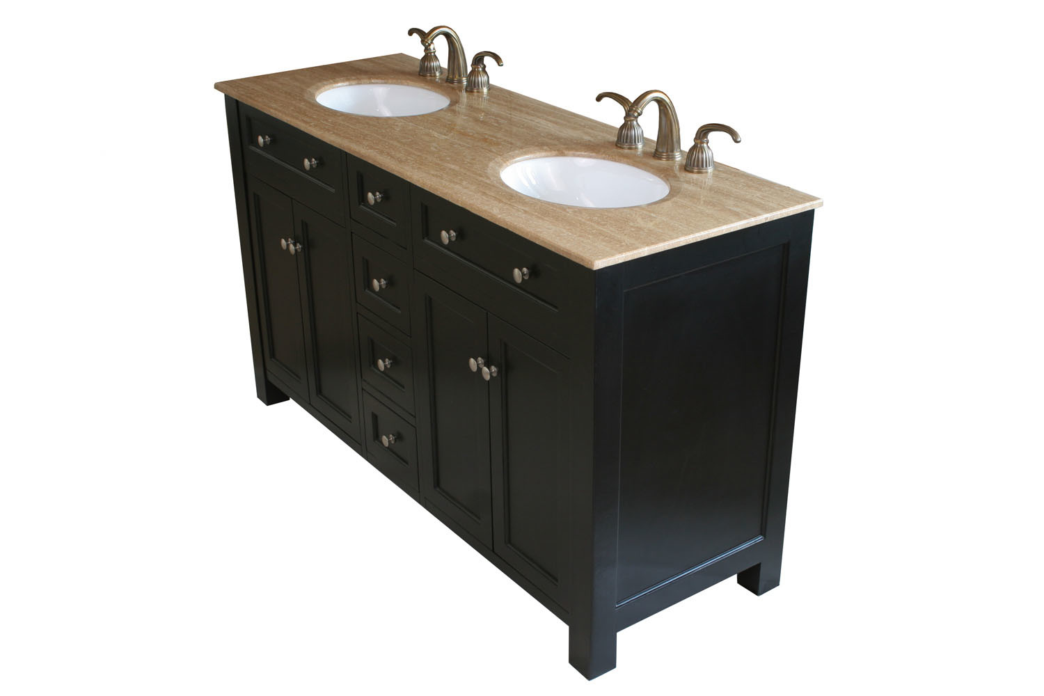 black double sink bathroom vanities bellaterra 603210 sink bathroom vanity 22764