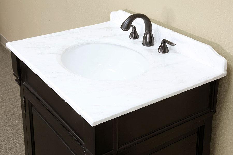 Bellaterra Home 205030 Cream Marble Backsplash