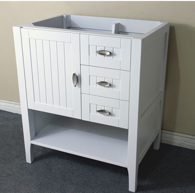 vanity cabinets without tops bellaterra home 29 inch white finish bathroom vanity base 27921