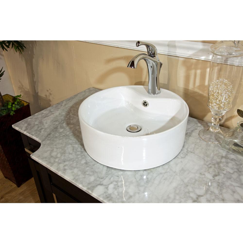 Bellaterra home 604023a single sink bathroom vanity soft for Bella bathrooms