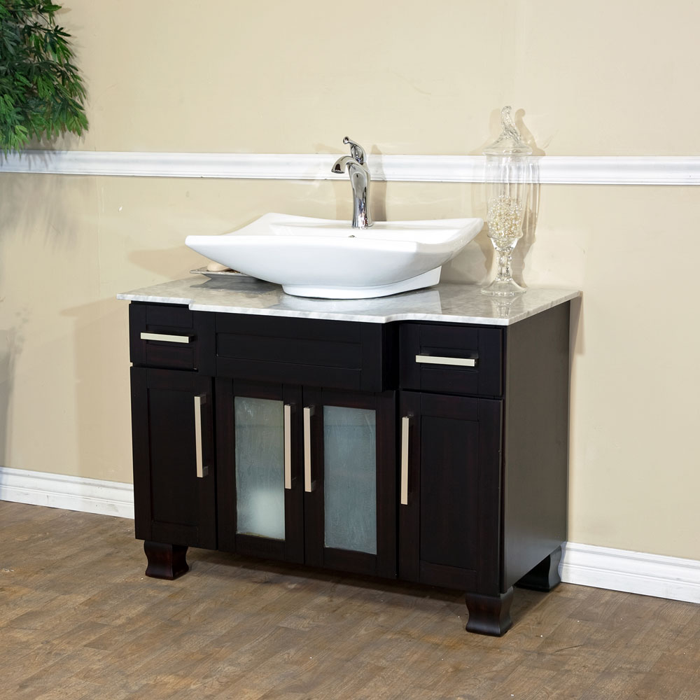 Bathroom single vanity - Bellaterra Home 604023b Single Sink Bathroom Vanity Soft Close