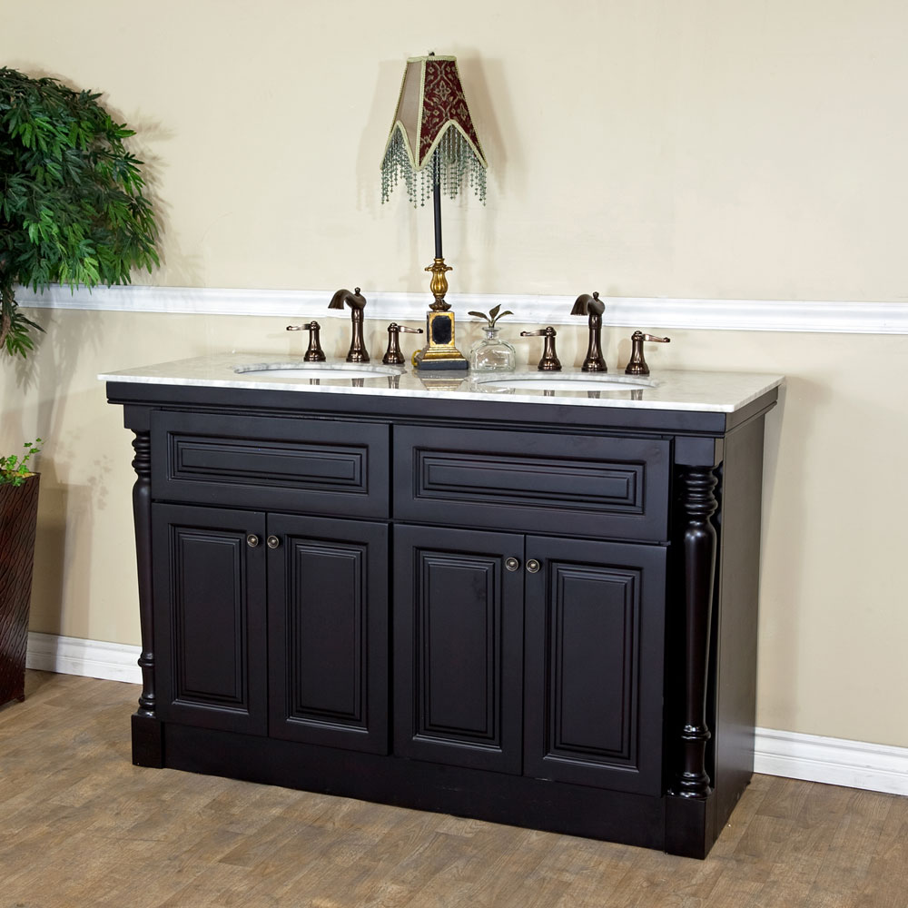 ... Bellaterra Home 605522A Double Sink Bathroom Vanity ...