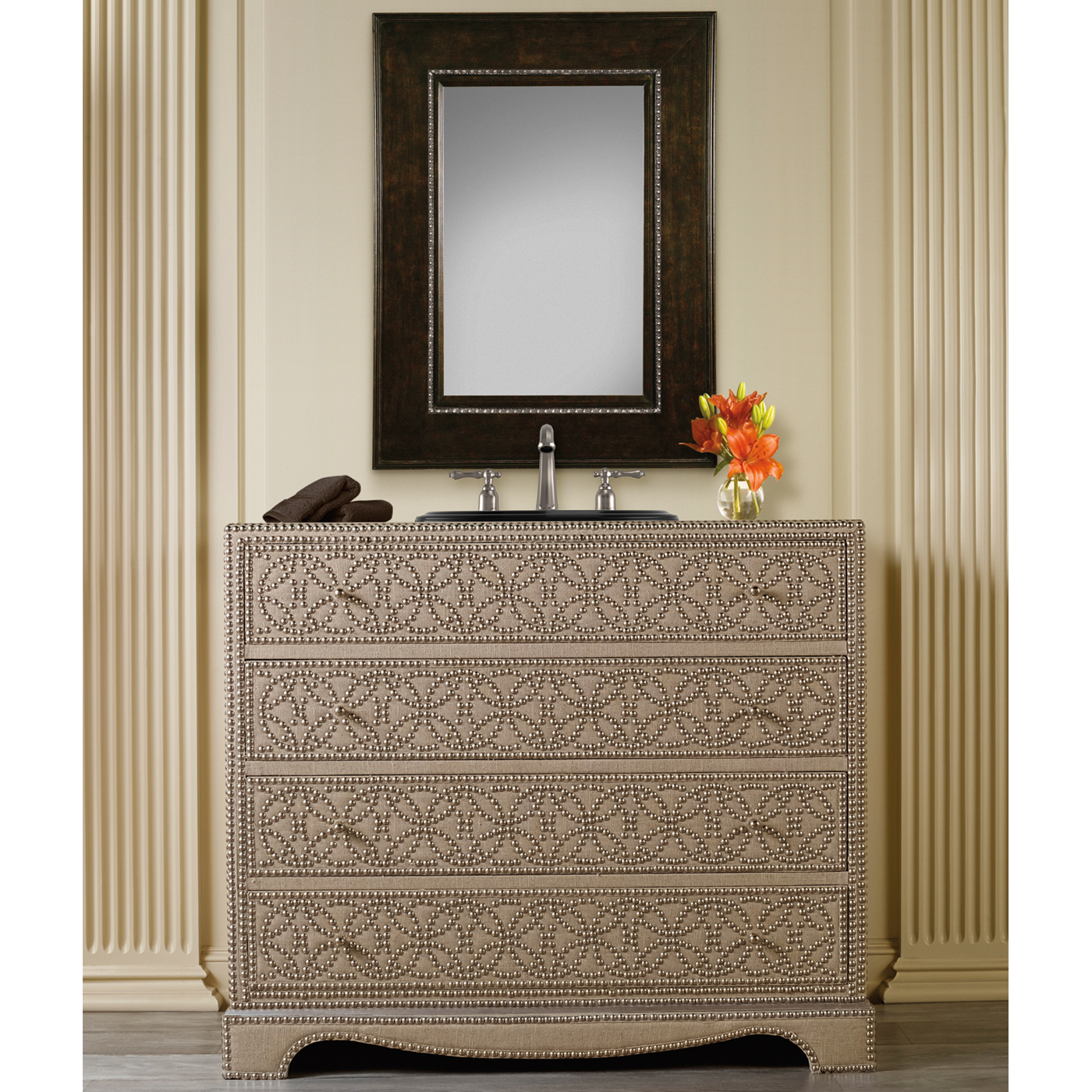 42 inch Hall Chest Bathroom Vanity by Cole & Co Designer Series