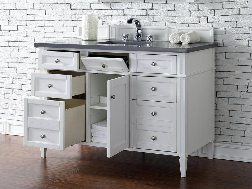 48 white bathroom vanity martin collection 48 quot single vanity 15321