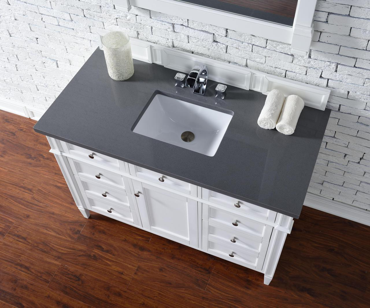 James Martin Brittany Collection 48 Single Vanity Cottage White
