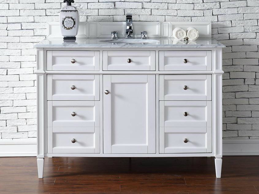 white bathroom vanity 48 martin collection 48 quot single vanity 21473