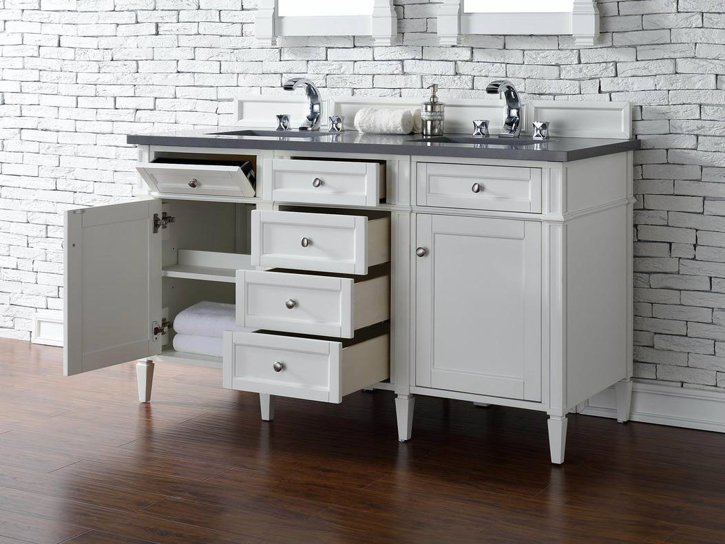 Modern Vanity No Top : James martin brittany collection quot double vanity cottage