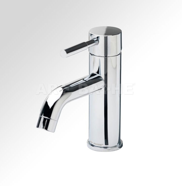 Curviz Short Single Handle Lavatory Faucet with Mounting Hardware