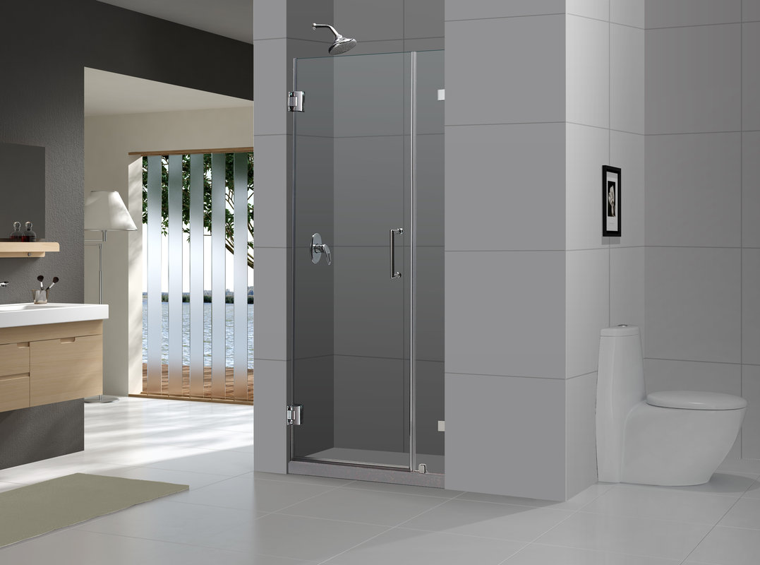 Dreamline 72 X 34 Radiance Frameless Shower Doorchrome Or Brushed