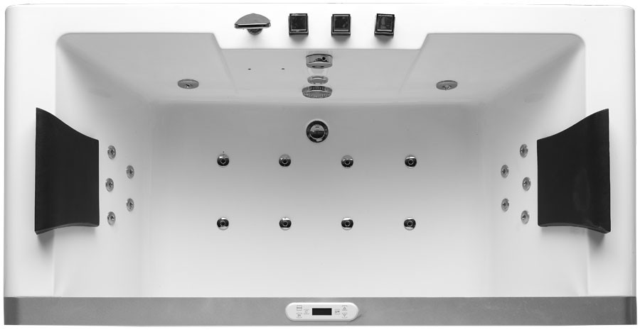 Free Standing Jetted Soaking Tub Freestanding Bathtubs With - Rectangular freestanding soaking tub
