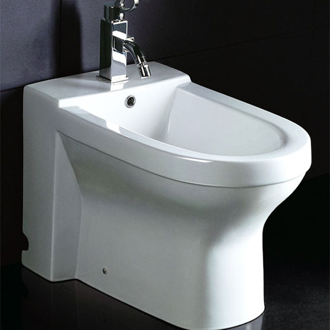 EAGO White Ceramic Bathroom Bidet