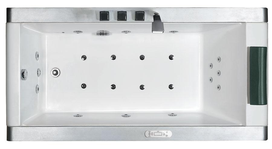 """EAGO 71"""" Modern Whirlpool Bath Tub"""