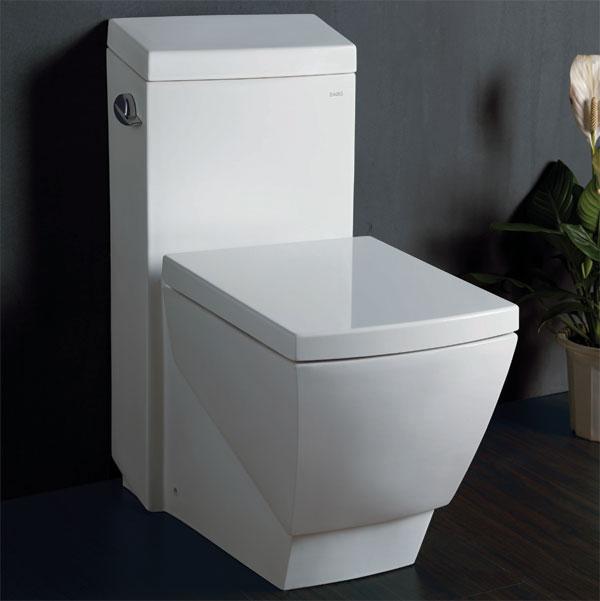 Eago Elongated One Piece Ultra Low Flush Toilet, Stylish High ...