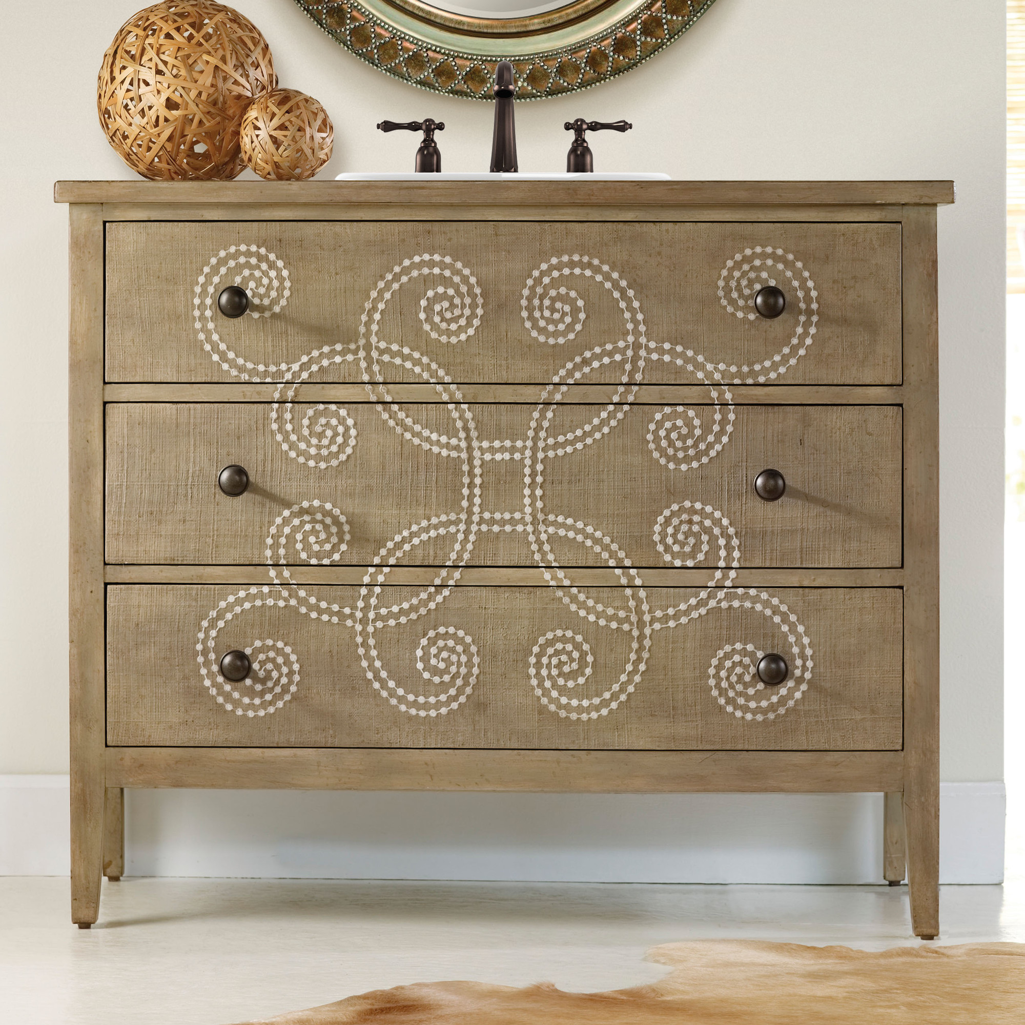Emma 44 Inch Chest Bathroom Vanity By Cole Co Designer Series