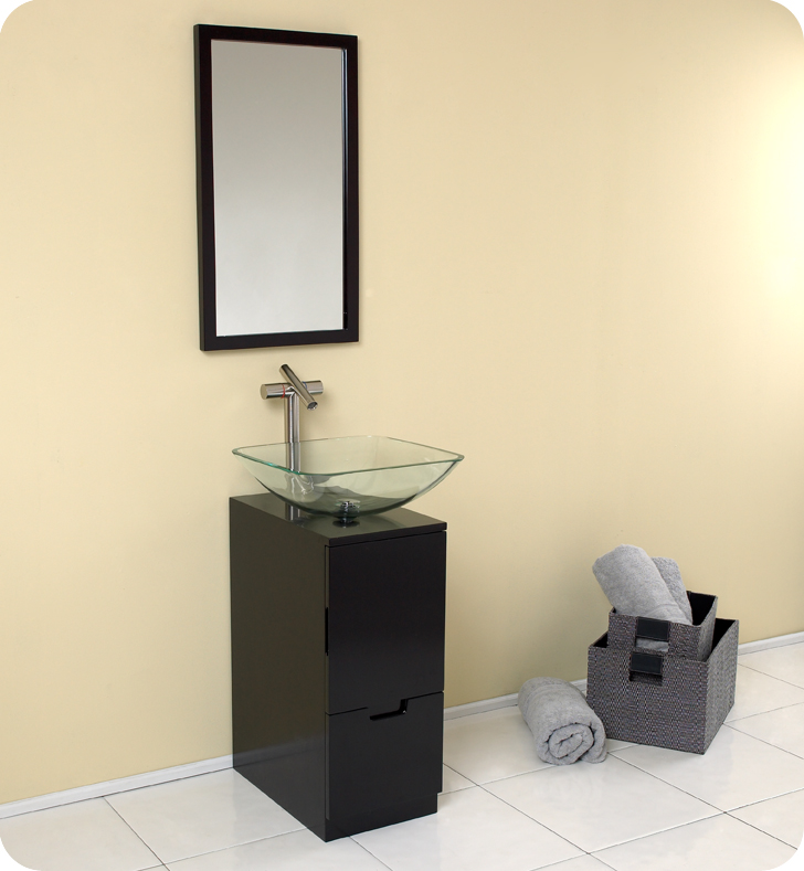 Bathroom Vanities Kansas City Area freca brilliante 17†modern bathroom vanity with mirror