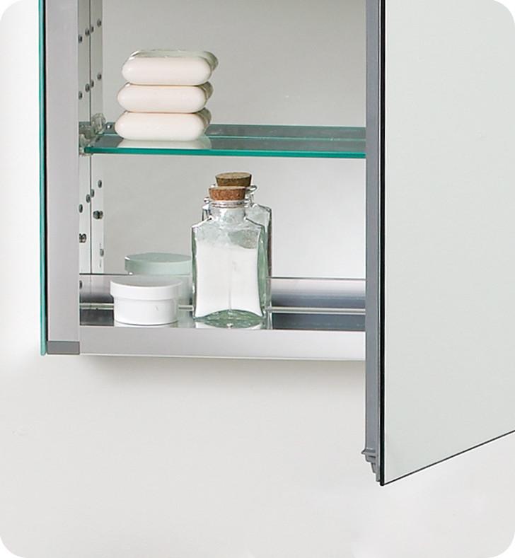 ... Fresca 20 Inch Wide Bathroom Medicine Cabinet