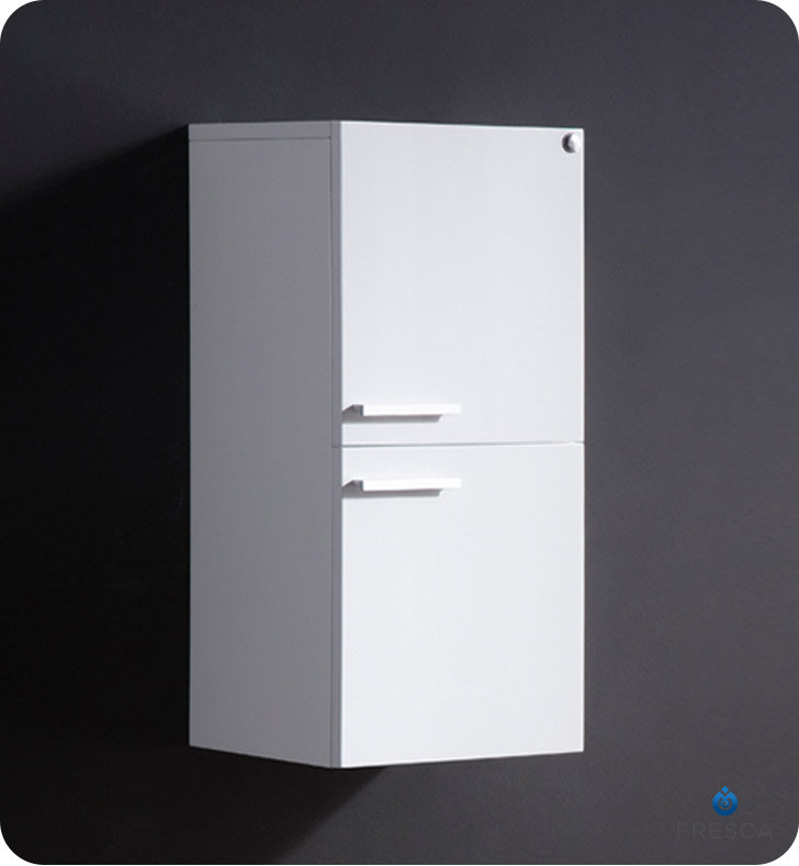 white linen cabinets for bathroom fresca 28 inch white bathroom linen side cabinet with two 29090