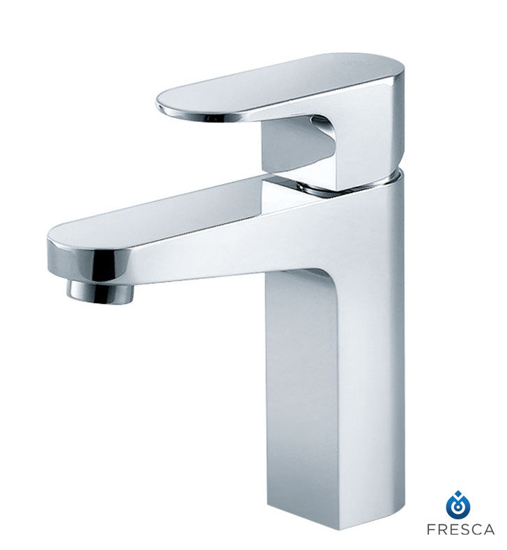 Fresca Chrome Finish Velino Single Handle Lavatory Faucet