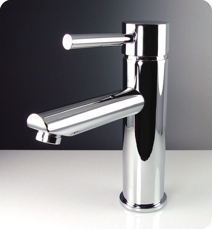 Fresca FFT1040CH Chrome Tartaro Single Handle Lavatory Faucet